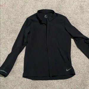 Nike slim fit water resistant shirt jacket large